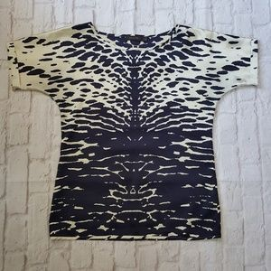 The Limited Abstract Artsy Textured Top